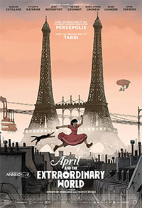 April and the Extraordinary World preview