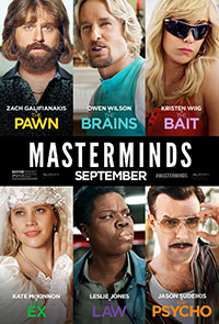 Masterminds preview