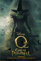 Oz, the Great and Powerful preview