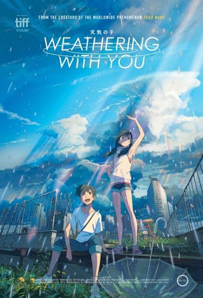 Weathering with You preview