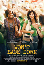 Won't Back Down preview